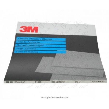 DS Color-3M-3M 01978 LIJA AL AGUA 734 - 230mm x 280mm P-280 (unidad)
