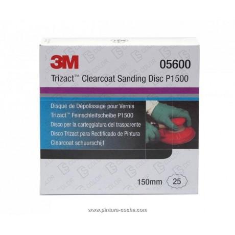 3M 05600 DISCO TRIZACT P1500 150mm (unidad)