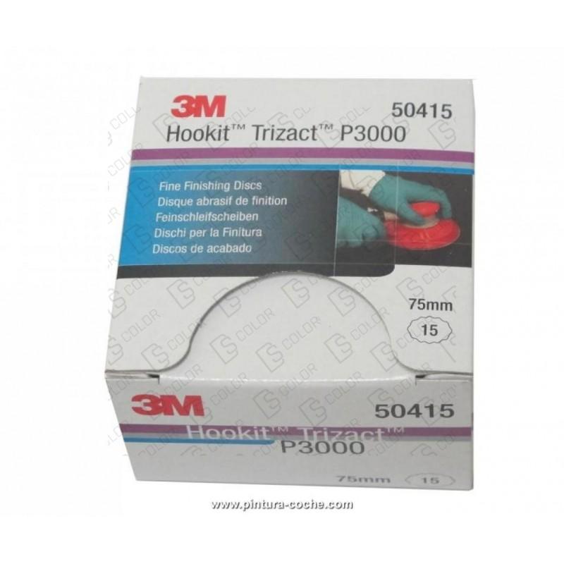 DS Color-3M-3M 50415 DISCO TRIZACT P3000 75mm (caja/box15u.)