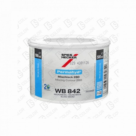 DS Color-PERMAHYD-SPIES HECKER WB842 BRILLIANT WHITE 0.5LT