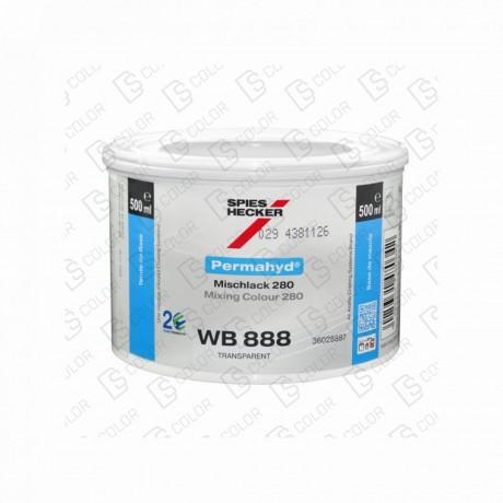 DS Color-PERMAHYD-SPIES HECKER WB888 TRANSPARENT 0.5LT