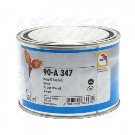 DS Color-SERIE 90-GLASURIT 90-A 347 MARRON 0.5LT