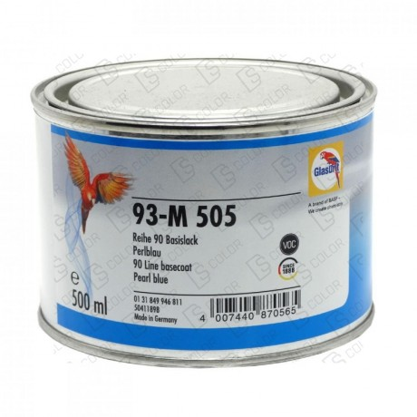DS Color-SERIE 90-GLASURIT 93-M 505 AZUL PERLA 0.5LT
