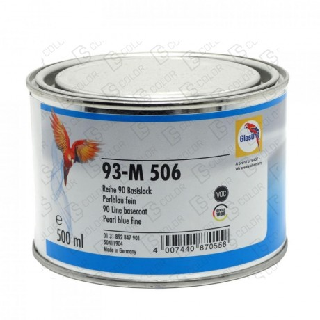 DS Color-SERIE 90-GLASURIT 93-M 506 0.5LT