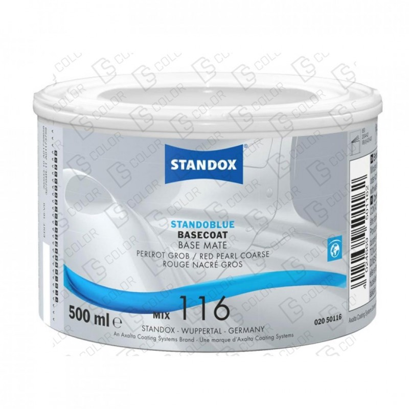 DS Color-STANDOBLUE-STANDOBLUE MIX 116 0,5LT. PERLROT GROB