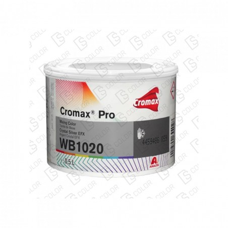DS Color-CROMAX PRO-CROMAX PRO WB1020 LT. 0,5 EFX PRO CRYSTAL SILVER //OUTLET
