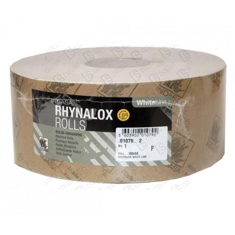 INDASA RHYNODRY WHITE LINE ROLLO 100x50 P180