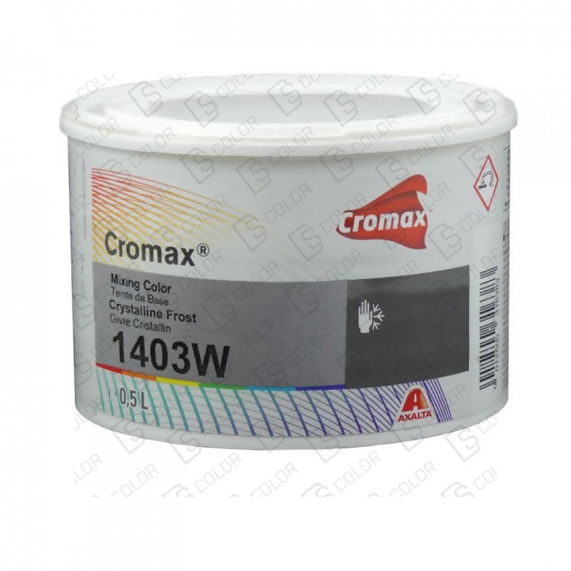 DS Color-CROMAX-CROMAX 1403W 0.5LT CRYSTALINE FROST