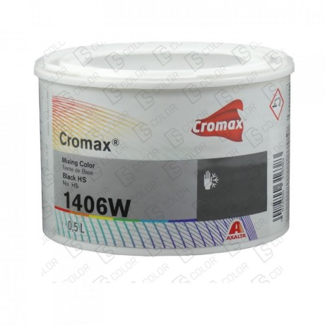DS Color-CROMAX-CROMAX 1406W 0.5LT BLACK H.S.