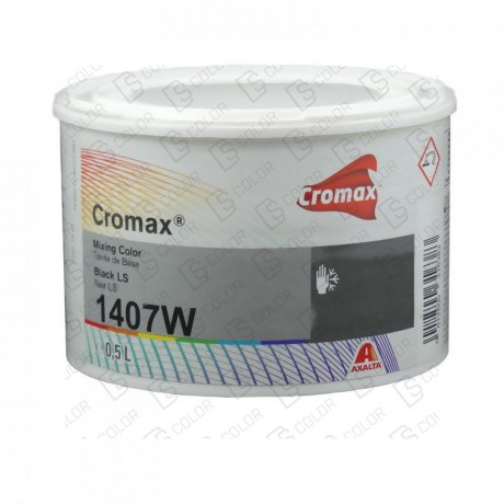 DS Color-CROMAX-CROMAX 1407W 0.5LT BLACK L.S.