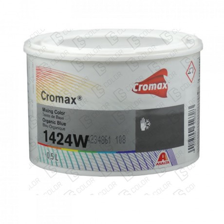 DS Color-CROMAX-CROMAX 1424W 0.5LT ORGANIC BLUE