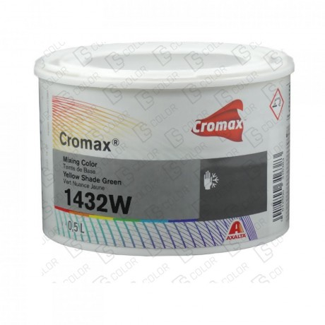 DS Color-CROMAX-CROMAX 1432W 0.5LT YELLOW SHADE GREEN