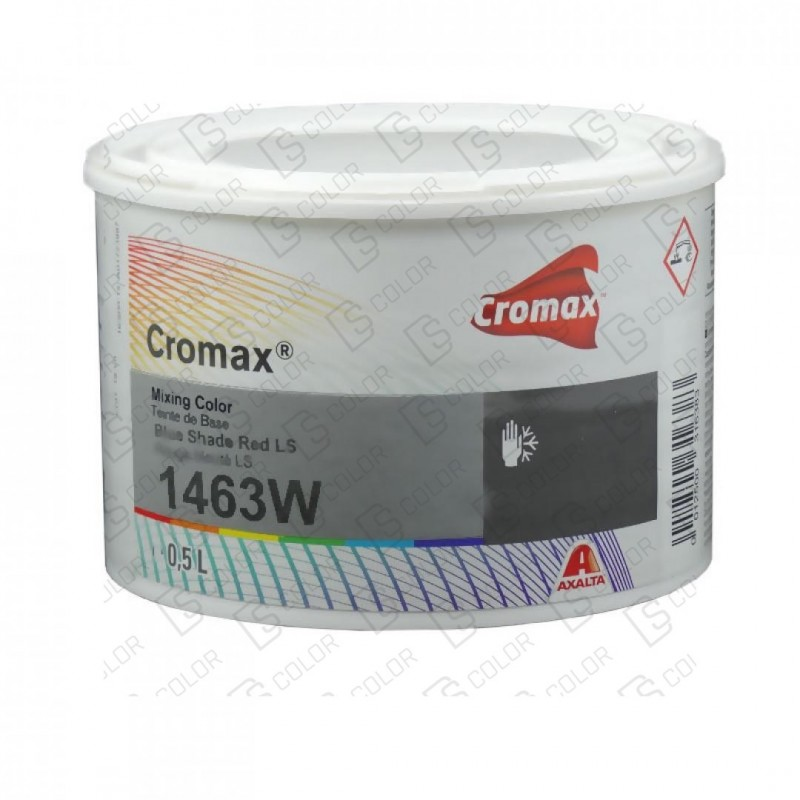 DS Color-CROMAX-CROMAX 1463W 0.5 LT BLUE SHADE RED L.S.