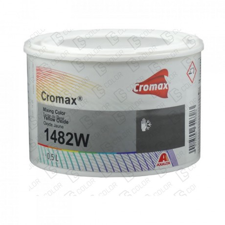DS Color-CROMAX-CROMAX 1482W 0.5LT YELLOW OXIDE