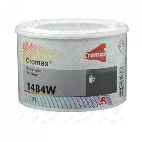 CROMAX 1484W 0.5LT RED OXIDE