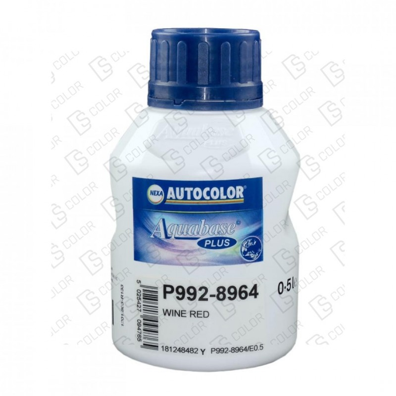 DS Color-AQUABASE PLUS-NEXA 992-8964 AQUABASE PLUS 0.5LT