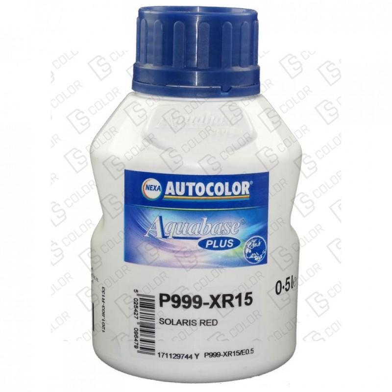 DS Color-OUTLET NEXA AUTOCOLOR-NEXA 999-XR15 AQUABASE PLUS 0.5LT (D)
