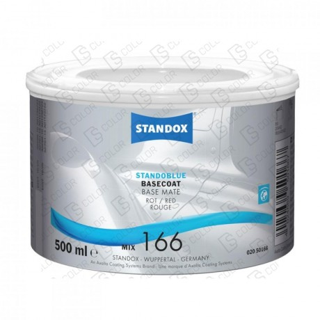 DS Color-STANDOBLUE-STANDOBLUE MIX 166 0,5LT. ROT