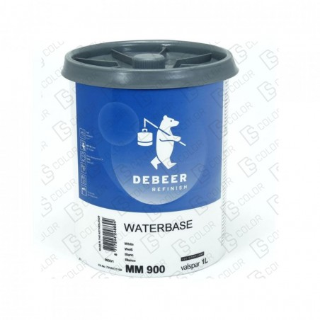 DS Color-WATERBASE SERIE 900-DE BEER MM900   1L W.B. White