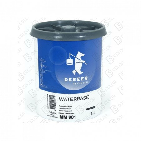 DS Color-WATERBASE SERIE 900-DE BEER MM901   1L W.B. Tr White