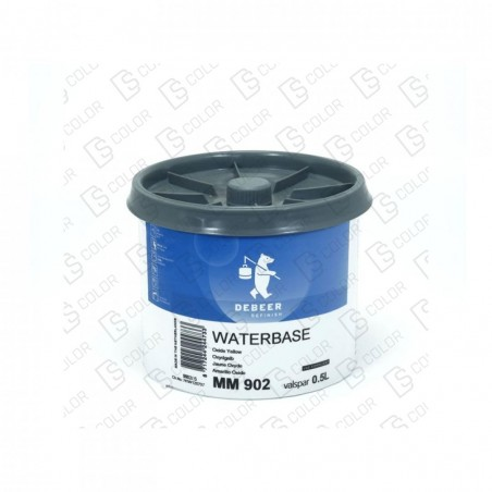 DS Color-WATERBASE SERIE 900-DE BEER MM902 0.5L W.B. Oxide Yellow