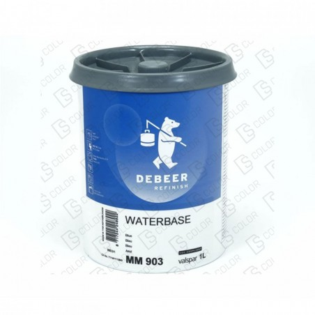 DS Color-WATERBASE SERIE 900-DE BEER MM903   1L W.B. Blue