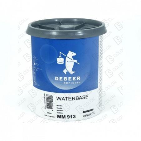 DS Color-WATERBASE SERIE 900-DE BEER MM913   1L W.B. Metallic