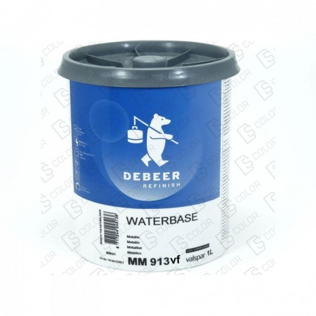 DS Color-WATERBASE SERIE 900-DE BEER MM913VF 1L W.B. Metallic Very Fine