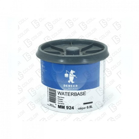 DS Color-WATERBASE SERIE 900-DE BEER MM924 0.5L W.B. Blue Green