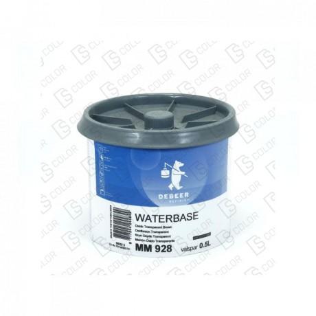 DS Color-WATERBASE SERIE 900-DE BEER MM928 0.5L WB Oxide TrBrown