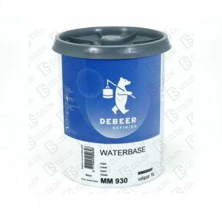 DS Color-WATERBASE SERIE 900-DE BEER MM930   1L W.B. Violet