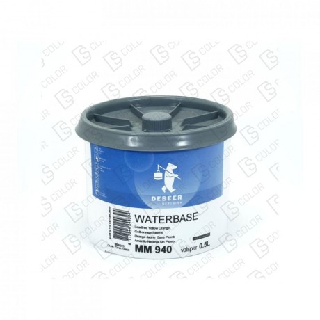 DS Color-WATERBASE SERIE 900-DE BEER MM940  0.5L WB YellowOrange