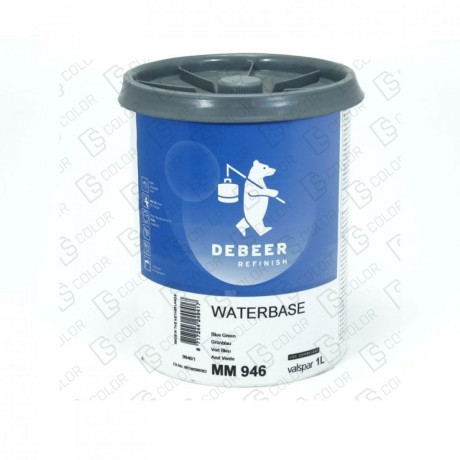 DS Color-WATERBASE SERIE 900-DE BEER MM946   1L WB Blue Green