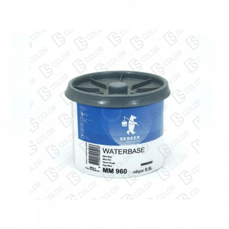 DS Color-WATERBASE SERIE 900-DE BEER MM960  0.5L W.B. Mica Red