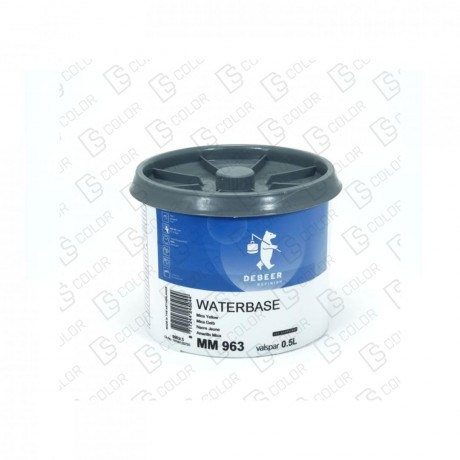 DS Color-WATERBASE SERIE 900-DE BEER MM963  0.5L W.B. Mica Yellow