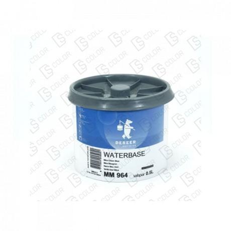 DS Color-WATERBASE SERIE 900-DE BEER MM964 0.5L WB MicaGreenBlue