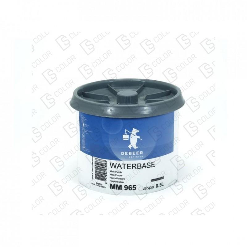 DS Color-WATERBASE SERIE 900-DE BEER MM965  0.5L W.B. Mica Purple