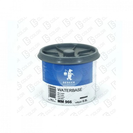 DS Color-WATERBASE SERIE 900-DE BEER MM966  0.5L WB Mica Copper