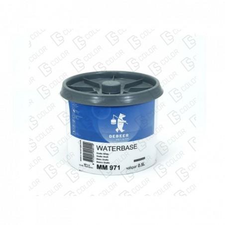 DS Color-WATERBASE SERIE 900-DE BEER MM971  0.5L W.B. Xirallic White
