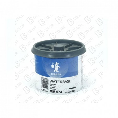 DS Color-WATERBASE SERIE 900-DE BEER MM974 0.5L WB Xirallic Green