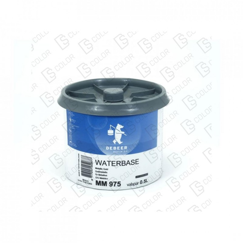 DS Color-WATERBASE SERIE 900-DE BEER MM975  0.5L W.B.