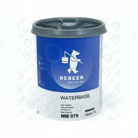 DS Color-WATERBASE SERIE 900-DE BEER MM979   1L W.B. Special Black