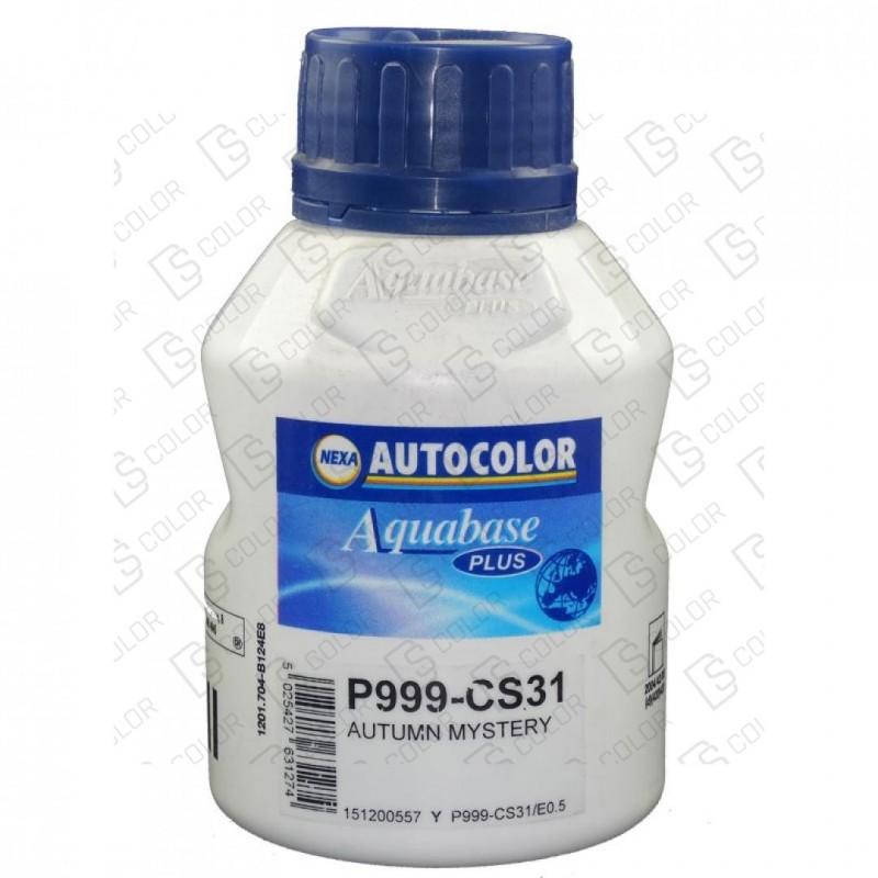 DS Color-OUTLET NEXA AUTOCOLOR-NEXA 999-CS31 AQUABASE PLUS 0.5LT //OUTLET