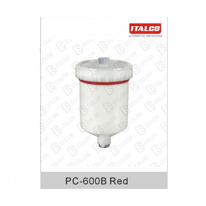 DS Color-ITALCO-ITALCO VASO PARA PISTOLA RIGIDO PC-600B
