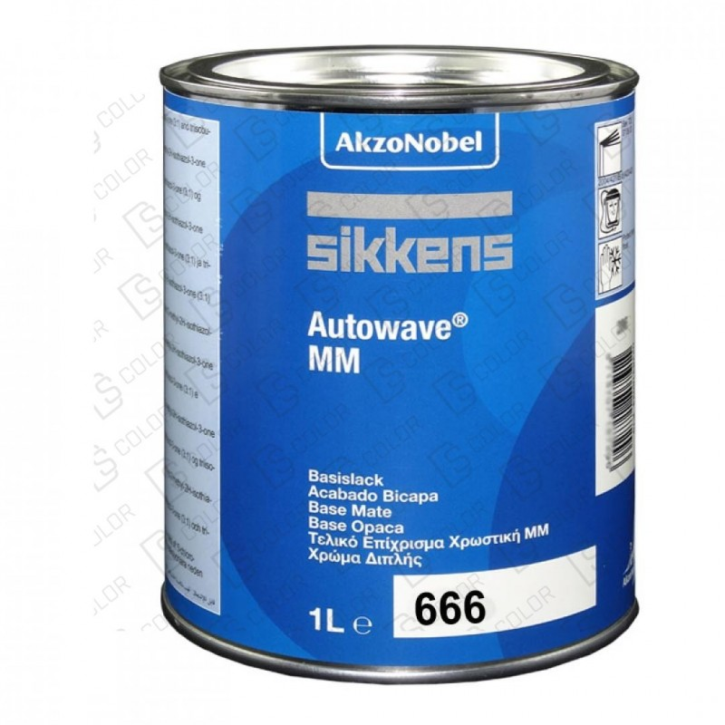 DS Color-AUTOWAVE MM-SIKKENS AUTOWAVE 666 1LT