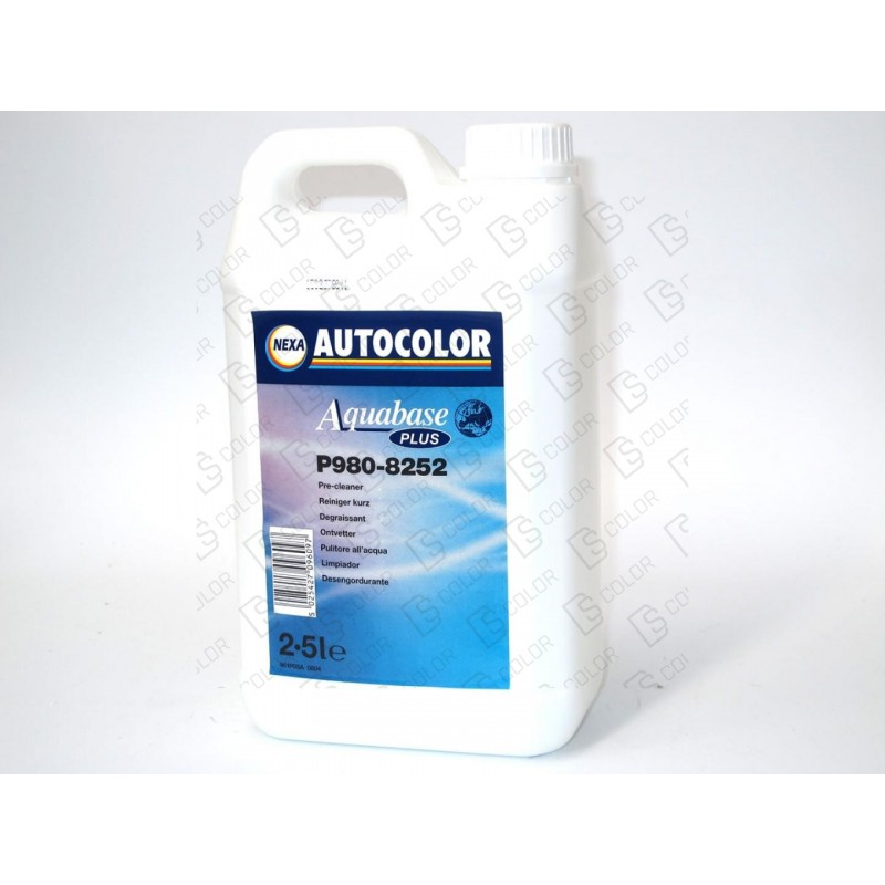 DS Color-AQUABASE PLUS-NEXA P980-8252 AQUABASE PLUS PRE-CLEANER 2.5LT