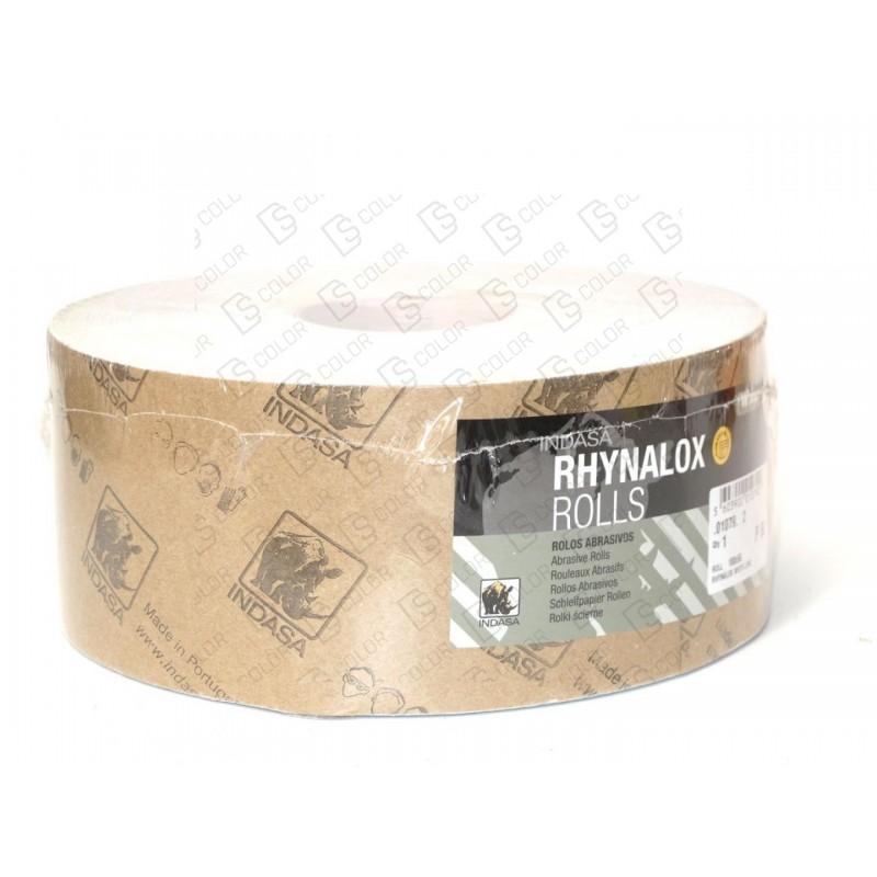 DS Color-INDASA-INDASA RHYNALOX WHITE LINE ROLLO 115x50 P120