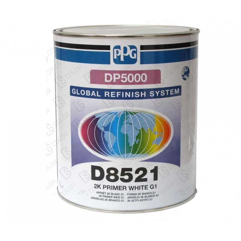 DS Color-PPG APAREJOS-PPG APAREJO D8521 3L. G1 BLANCO