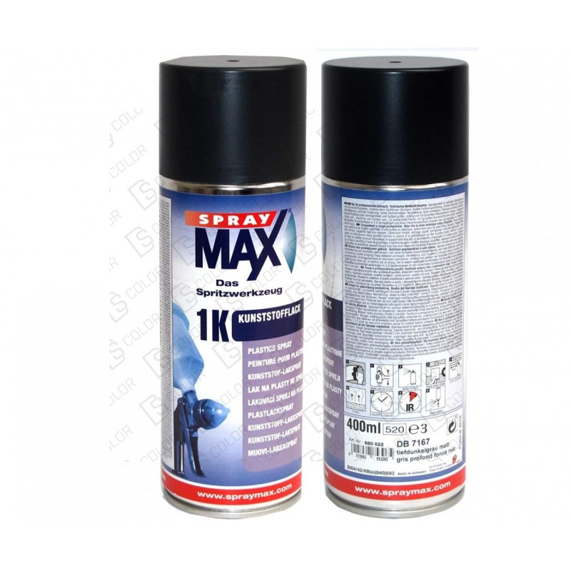 DS Color-SPRAYMAX-SPRAY MAX Acabado Plasticos MERCEDES Gris O. 400ml