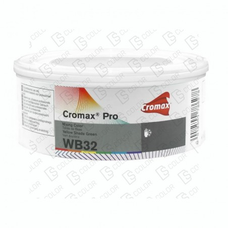 DS Color-CROMAX PRO-CROMAX PRO WB32 LT. 0,25L YELLOW SHADE GREEN